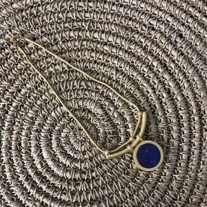 Madewell Lapis Starstruck Necklace